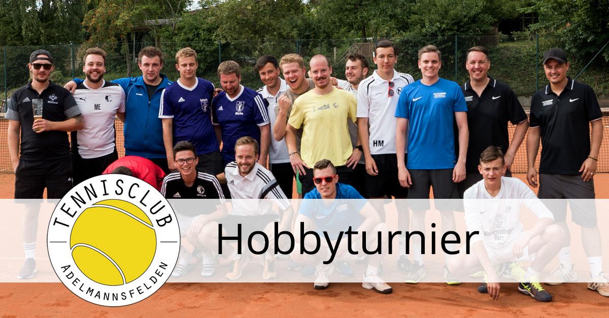 Hobby-Doppelturnier um den Edwin-Hahn-Cup - Tennisclub Adelmannsfelden