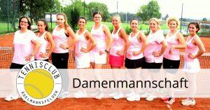 Auswärtsspiel der Damen gegen TA TV Bittenfeld 1 @ Tennisplatz TA TV Bittenfeld