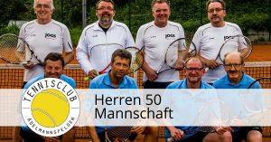Heimspiel der Herren 50 gegen TA SpVgg Unterrot 1 @ Tennisclub Adelmannsfelden